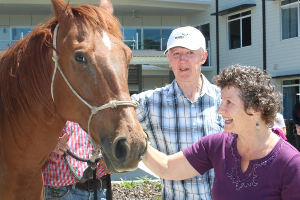 Residents get hands-on at serene Cedarbrook