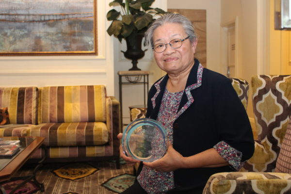 Esther's life of care recognised with industry award