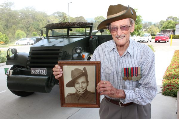 WWII veteran to honour fallen mates on Remembrance Day