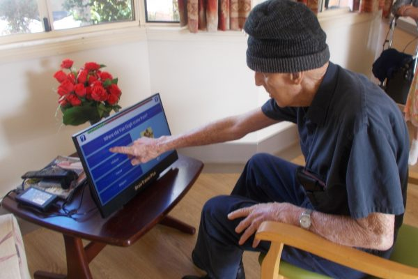Brain trainer keeping seniors' minds sharp
