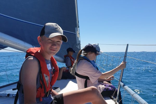 Students set sail for fun and life skills