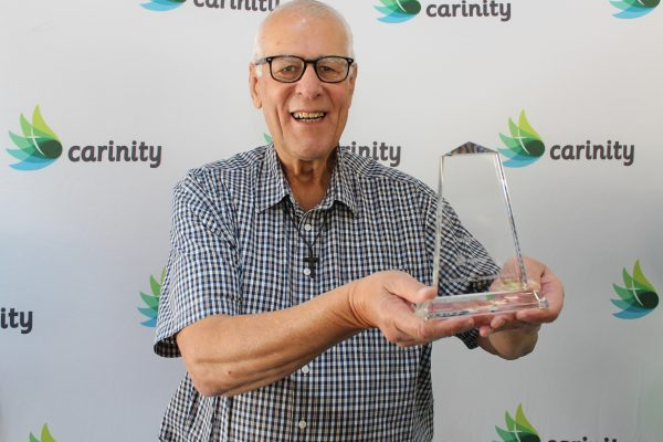 Carinity's valued volunteers and supporters recognised