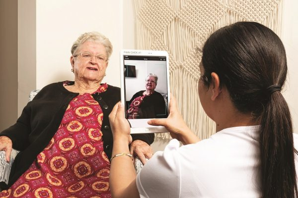 New technology assisting residents' pain relief