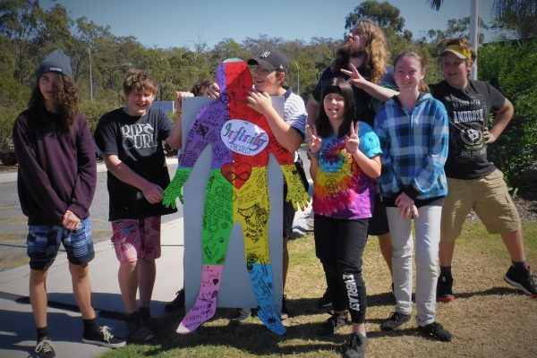 Gladstone students rally against online bullying