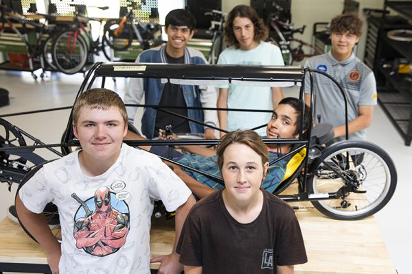 Students join the fast lane
