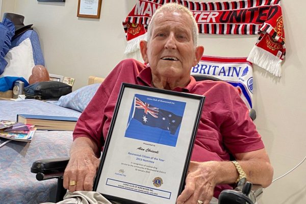 Inspirational volunteer's community work recognised