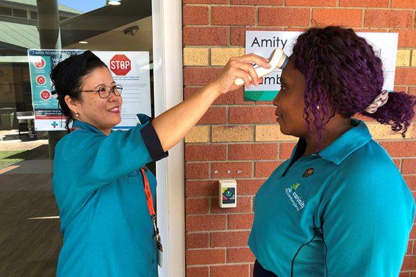 Carinity enforcing strict Coronavirus control measures
