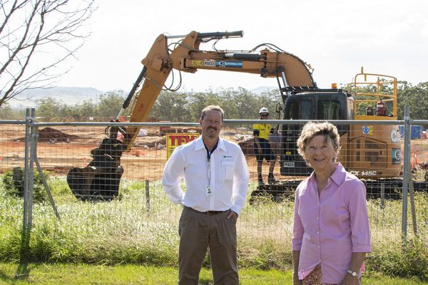 New Carinity aged care community taking shape