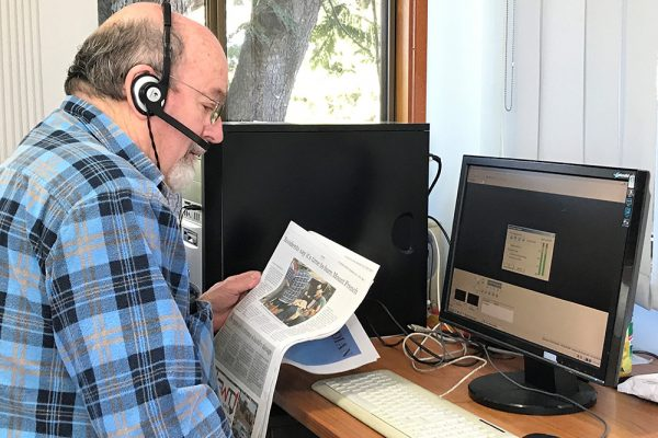 Fassifern volunteers ensure all can hear local news