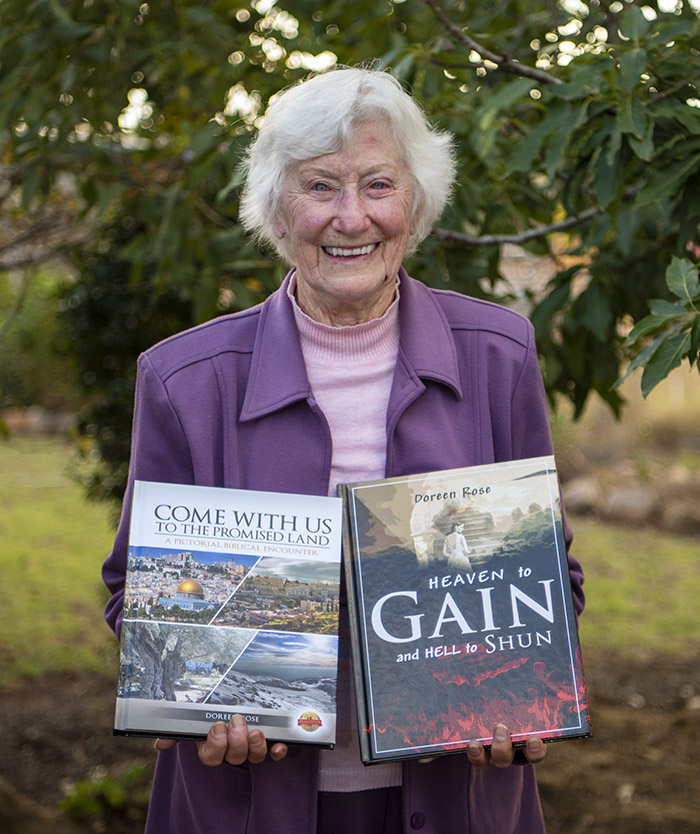Carinity Brownesholme retirement village resident Doreen Rose has published two new books.