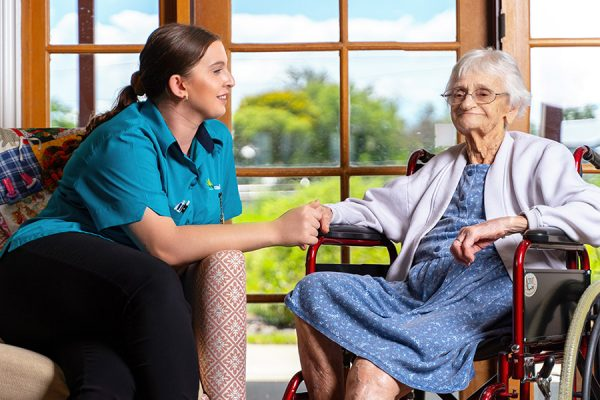 Carinity carers undertaking specialised dementia training