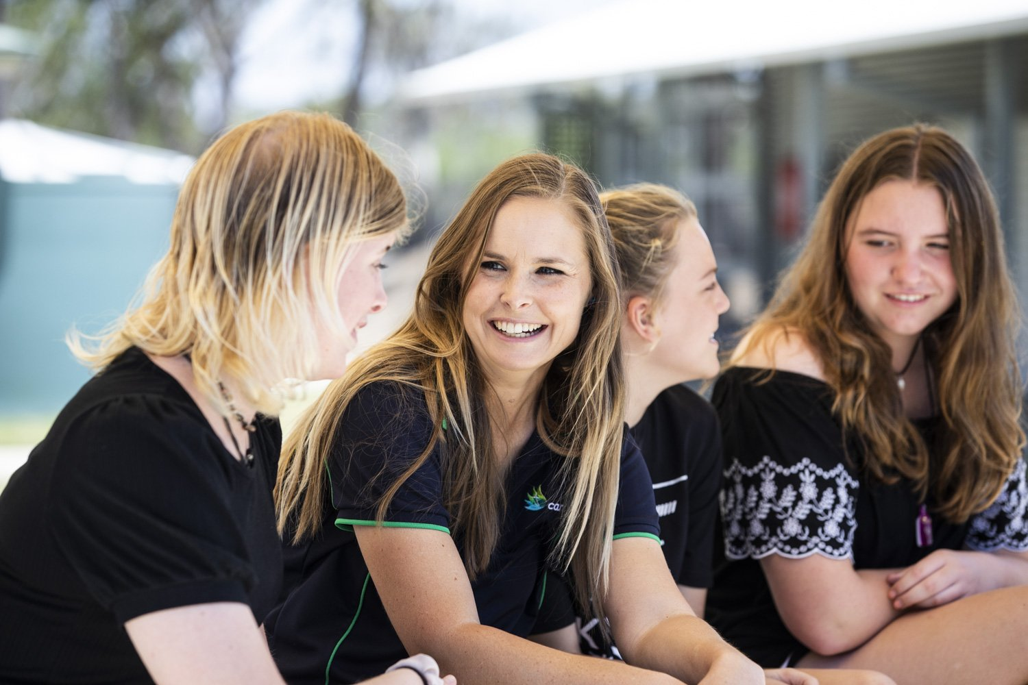 Carinity Education Rockhampton teacher Danielle New enjoys encouraging students to