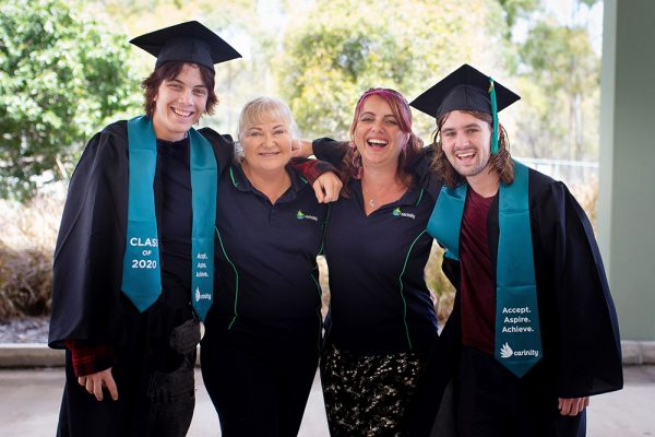 Students overcome barriers to become school graduates