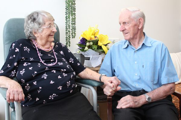 Sweethearts celebrate 70 years of marriage
