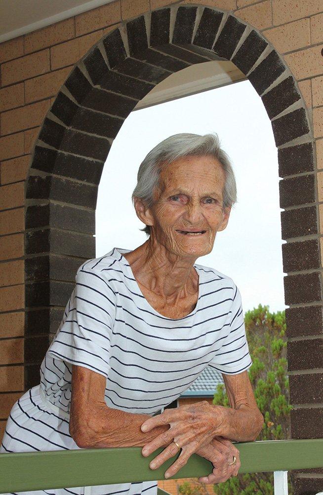 "Maudesta ""Maud"" Litwinowicz at her home in Brisbane."
