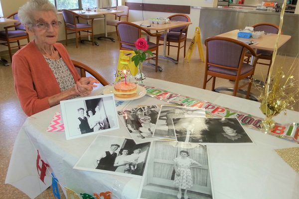 Celebrating Australia's newest centenarian