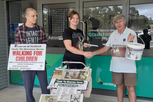 Gladstone students have a heart for charity