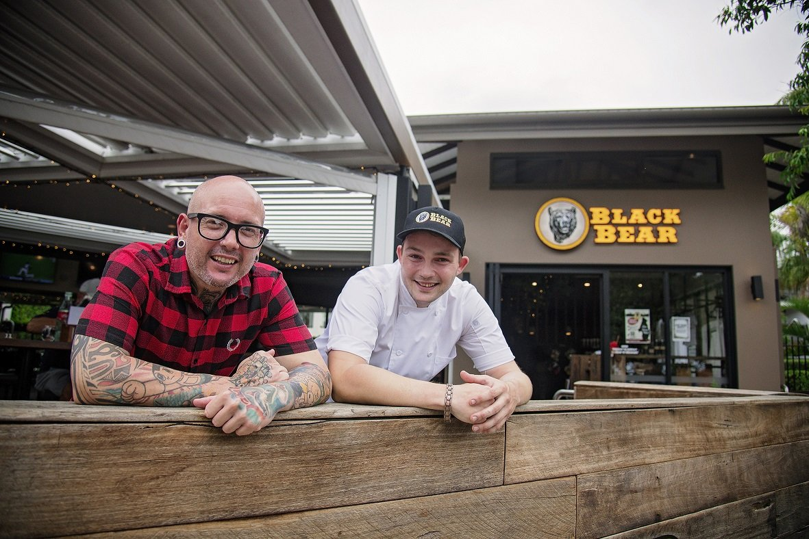 Carinity Education Glendyne graduate Travis Mares works at a popular Hervey Bay restaurant owned by celebrity chef Dan Mulheron.