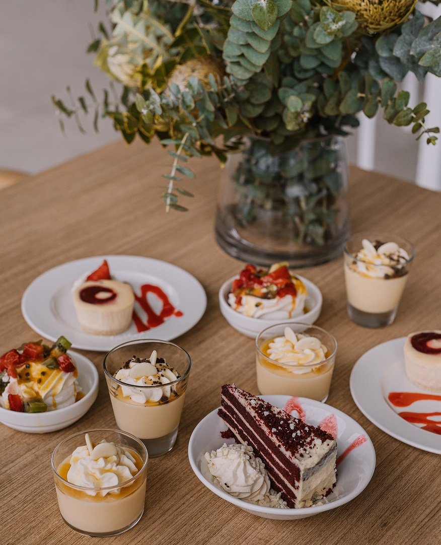 Choice and variety is a focus for the Carinity Hospitality Services team, even for desserts.