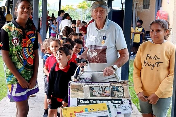 Townsville students support fundraiser Claude