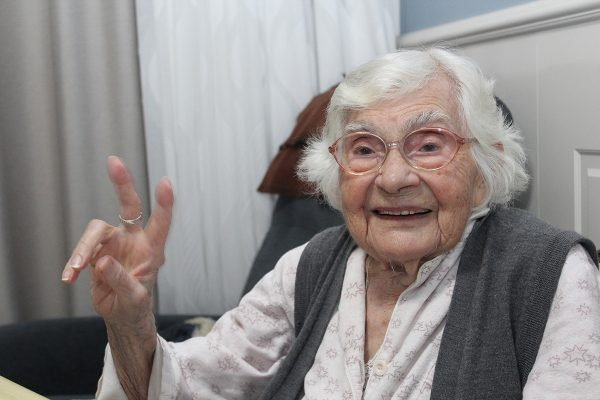 Decorated community worker turns 100